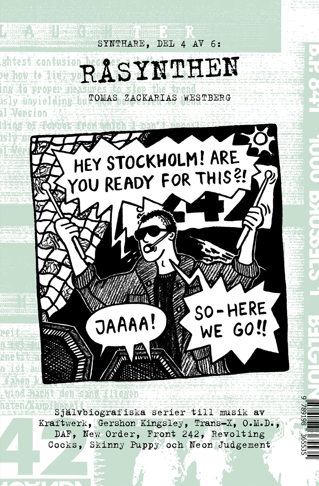 Råsynthen / Going hardcore av Tomas Zackarias Westberg