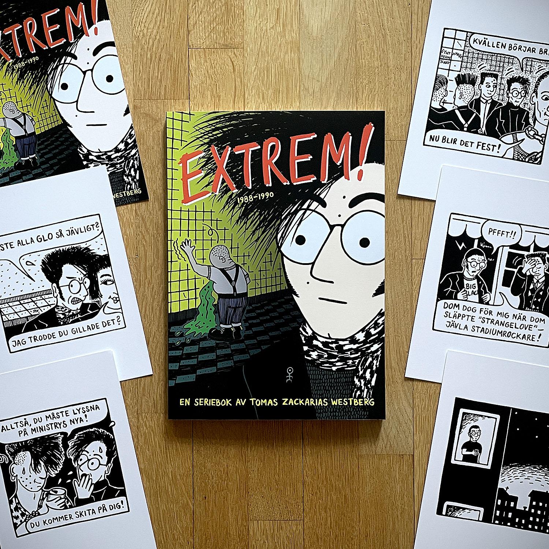 Extrem! + 6 st vykort